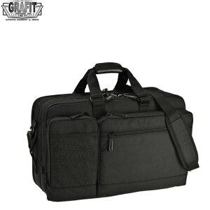 ビジネスバッグ ブリーフケース ガーメントバッグ ガーメントケース 3wayバッグ メンズ A3ファイル ウレタン内装 PC・タブレット対応 キャリーバー通し ビジネス 通勤 出張 黒 #26644 グラフィ