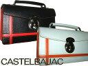 カステルバジャック CASTELBAJAC レディース ブローチシリーズクラッチセカンドバッグ