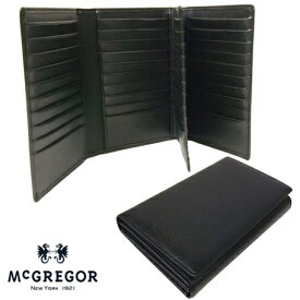 正規品 ポイント10倍 通勤 通学 記念日 冠婚葬祭 [マックレガー] McGregor 二つ折り財布 カードケース 50枚収納 22046 yama17