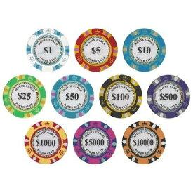 【メール便送料無料】ポーカーチップ カジノ 10枚セット