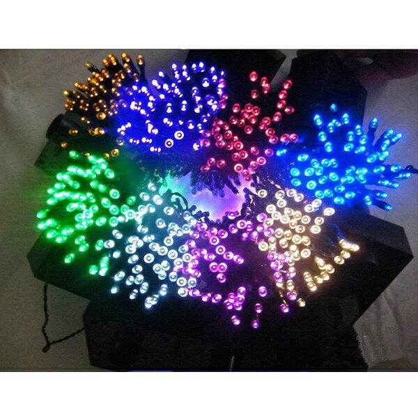 【メール便送料無料】イルミネーション LEDソーラー 100球 点灯8パターン 屋外 クリスマス 飾り