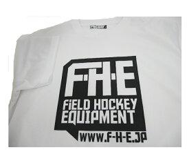 F-H-E Tシャツ 白【Tシャツ】【フィールドホッケー 】【ドライTシャツ】【吸汗速乾】