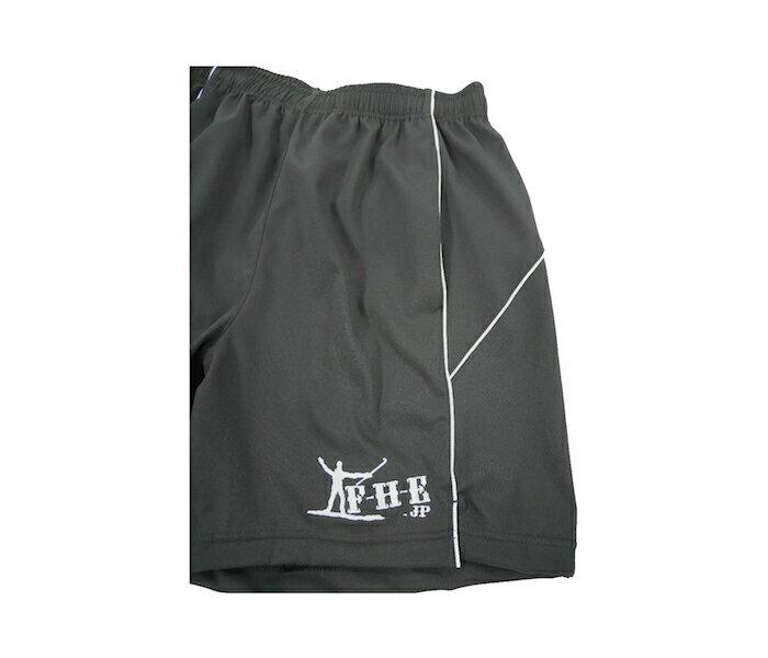 F-H-E 短パン 黒【フィールドホッケー】【トレーニングパンツ】【短パン】