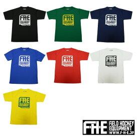 F-H-E Tシャツ ネコポス送料込み【Tシャツ】【フィールドホッケー 】【ドライTシャツ】【吸汗速乾】【送料無料】