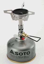 SOTO マイクロレギュレーターストーブ ウインドマスター 新富士バーナー シングルバーナー ソロキャンプにも SOD-310