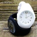 腕時計 レディース ユニセックス シリコンラバー シリコンベルト ラバーベルト プチプライス プチプラ フィールドワーク 1年保証