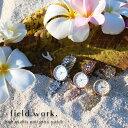 腕時計 レディース メタル プルメリア ハワイ ハワイアン ジュエリー プチプラ 大人 プレゼント フィールド…