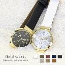 腕時計 レディース 革ベルト メタル ダミークロノグラフ アクセサリー 小物 プチプラ 日本製ムーブ ジェイコブ フィールドワーク 一年保証
