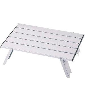 テーブル 折り畳み キャンプ バーベキュー BBQ ピクニック キャプテンスタッグ アルミ ロールテーブル コンパクト ( AP00474 / M-3713 )【QCB02】