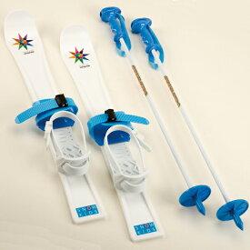 ジュニアプラスキー 60cm ブルー ( UX-0586 / AP10240100 )【 UX-586 】【 ミニスキー 草スキー 草すべり 】