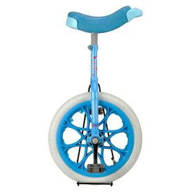 アステリア16一輪車(ホワイト/ブルー) ( YC-9836 / CAG10252832 )【 キャプテンスタッグ 一輪車 】