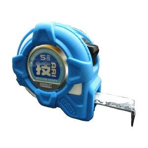 プロマートメジャー 技あり シリコンジャケット25 5.5m ブルー ( WAZASJ2555 / AT10254962 )【 プロマート 】【 巻尺 コンベックス スケール 】【QCA41】