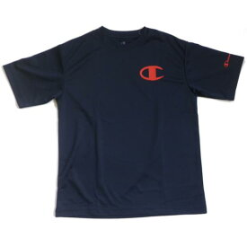 メンズ 半袖Tシャツ ネイビーxオレンジ/Lサイズ ( CM1263C-N-L / JSC10255059 )【 チャンピオン 】【 チャンピオン tシャツ メンズ CM1263C-N 】