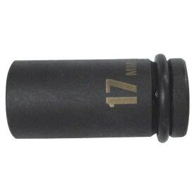 薄口インパクトレンチソケット セミロング 17mm ( IMS-17SL / EP10274619 )【 パオック 】