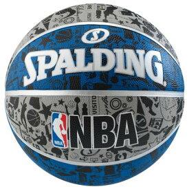バスケ スポルディング GRAFFITI(グラフィティ) ブルー 7号球 ( 83-176Z / SP10286639 ) スポルディング バスケ【QCB27】