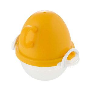 ezegg レンジでゆでたまご1個用 オレンジ ( EZ-28 / ATA10304296 )【 曙産業 】【QCB02】