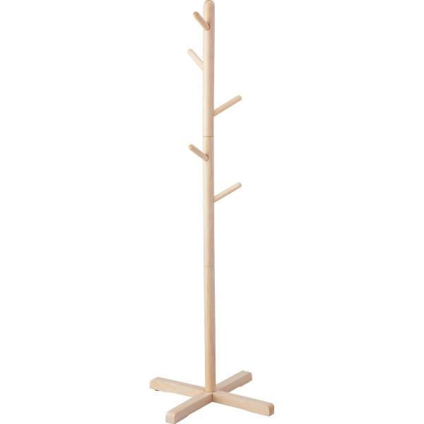 木製ポールハンガーS ナチュラル ( N-8283 / AP10321862 )【 パール金属 】【QBI25】