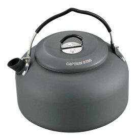 やかん ケトル キャンプ バーベキュー BBQ キャプテンスタッグ アルミ キャンピング ケットル 1.3リットル ( CAG10341218 / UH-4102 )【QCB27】