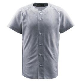 ジュニアフルオープンシャツ シルバー ( JDB1010-SLV / DES10349530 )【 デサント 】