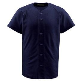 ジュニアフルオープンシャツ ネイビー ( JDB1010-NVY / DES10349534 )【 デサント 】