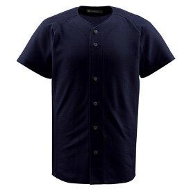 ジュニアフルオープンシャツ ブラック ( JDB1010-BLK / DES10349538 )【 デサント 】