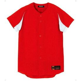 ジュニア ユニフォーム コンビネーションシャツ レッド×Sホワイト ( JDB43M-RDSW / DES10349934 )【 デサント 】
