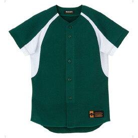 ジュニア ユニフォーム コンビネーションシャツ Dグリーン×Sホワイト ( JDB48M-DGRN / DES10349950 )【 デサント 】