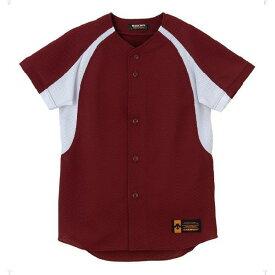 ジュニア ユニフォーム コンビネーションシャツ エンジ ( JDB48M-ENG / DES10349954 )【 デサント 】