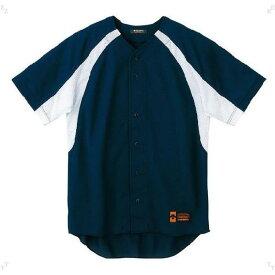 ジュニア ユニフォーム コンビネーションシャツ ネイビー×Sホワイト ( JDB48M-NVSW / DES10349958 )【 デサント 】