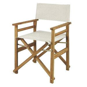 いす 椅子 ディレクターチェア キャンプ バーベキュー BBQ キャプテンスタッグ クラシックス FD ディレクター チェア ホワイト ( UP-1030 / CAG10391213 )【QCB02】