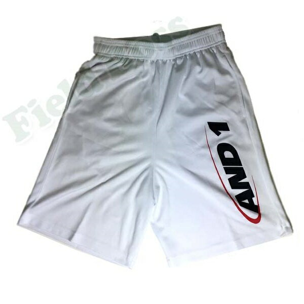 71202-01 ORIGINAL HOOK LOGO SHORT White / Black / Red (ANO10392806) 【 AND1 】【QBH33】