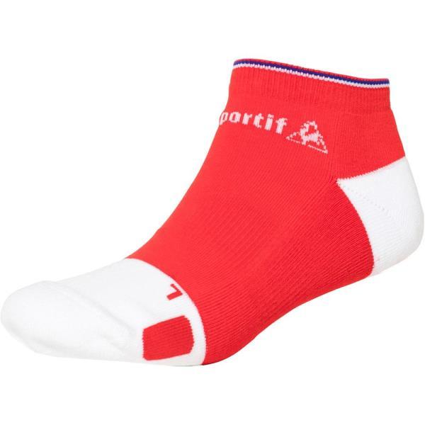 QTALJB02-RED アンクルソックス レッド (LCQ10551470) 【 le coq sportif 】【QBI25】