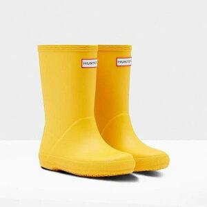 長靴 レインシューズ レインブーツ 子供 防水 雨具 ハンター キッズ KFT5003RMA-RYL KIDS FIRST CLASSIC YELLOW ( HUN10555132 ) 【 ハンター 】【QCB27】