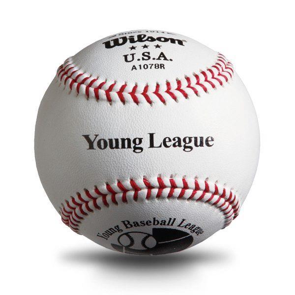 WLWTA1078R ウイルソン 全日本少年硬式野球連盟(ヤングリーグ)試合球 (WLS10577332)【 ウィルソン 】