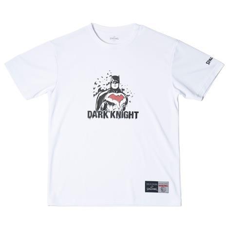 SMT181300-WHITE Tシャツ BATMAN DARK KNIGHT WHITE (SP10616247) 【 SPALDING 】