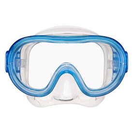 RM12QJ-CLB シリコーン素材 子供用マスク クリアライトブルー (REE10632806) 【 ReefTourer 】【QCB27】