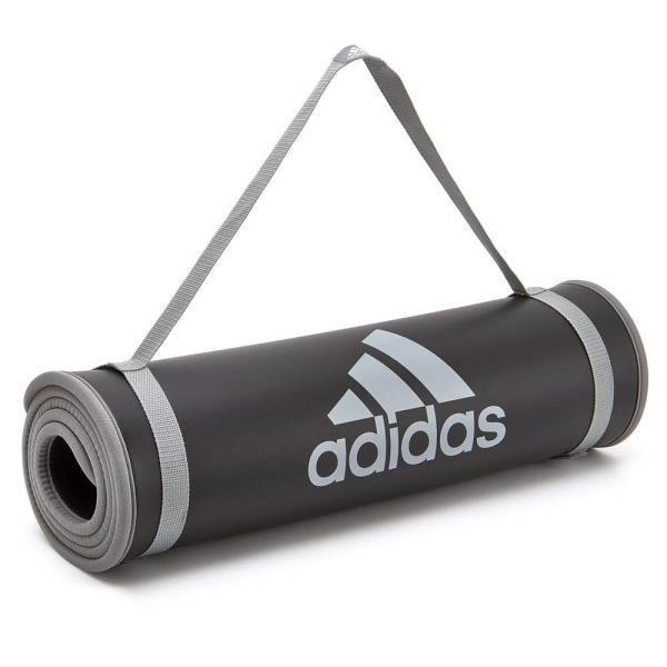 ADMT-12235GR adidas トレーニングマット グレー (PRB10690722) 【 アディダス 】
