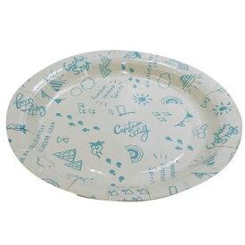 紙皿 おしゃれ UT-0100 ブランシュ ペーパープレート 18cm 6枚入 (CAG10690810) 【 CAPTAINSTAG 】