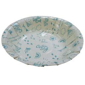 紙皿 おしゃれ UT-0101 ブランシュ ペーパーボール 16cm 6枚入 (CAG10690811) 【 CAPTAINSTAG 】
