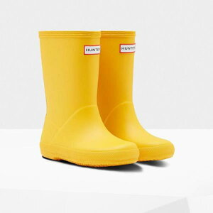 長靴 ブーツ レインブーツ レインシューズ 子供 雨具 ハンター キッズ KFT5003RMA-RYL-11 KIDS FIRST CLASSIC YELLOW 11 ( HUN10721866 ) 【 ハンター 】【QCB27】