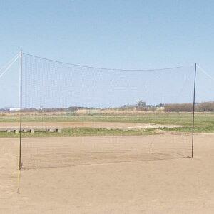 ネット グラウンド 野球 バックネット ポータブル 6×3 S-4014 特殊送料【ランク:B】 【SWT】 【QCB27】