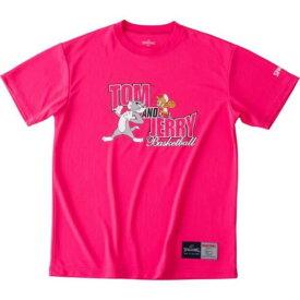 バスケ Tシャツ バスケウェア バスケ 半袖 Tシャツ トムandジェリー ピンク/6200【SP】【QCA04】