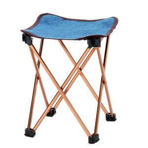 椅子 おしゃれ 椅子 折りたたみ 椅子 アウトドア BD-131DE BUNDOK アルミスツール デニム M【KA】【QCB02】
