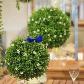 東谷 植物 飾り LFS-902B ボールフェイクグリーンS【AZM】【QBJ38】
