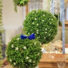 東谷 植物 飾り LFS-903B ボールフェイクグリーンL【AZM】【QBJ38】