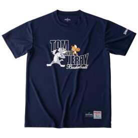 バスケ Tシャツ バスケウェア バスケ 半袖 Tシャツ トム&ジェリー ネイビー/5400【SP】【QCA04】