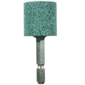 サンフレックス 軸付砥石 砥石 No.3754H 六角軸 軸付砥石 25mm径(非鉄用) 【SUF】【QCB02】