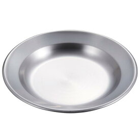 皿 ステンレス ステンレスプレート 食器 ステンレス UH-0043 ステンレス 丸型カレー皿22cm UH-43 【CAG】【QCB43】