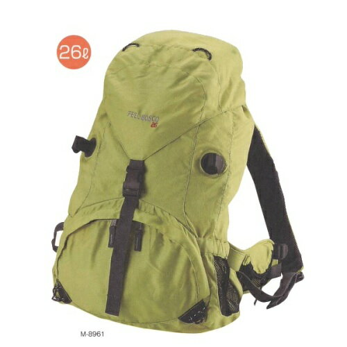 FEEL BOSCO ザック CS-26L(グリーン) (AP160025/M-8961)【 キャプテンスタッグ 】【QBH33】