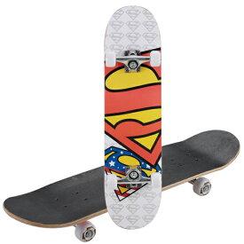 WB スケートボード(スーパーマン・Sマーク) (AP231230/UY-5035)【 スケボー スケート ボート ボード Xゲーム 】